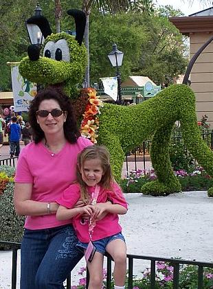 Mindy & Heidi at Disney