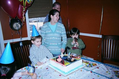 Sam\'s 4th Birthday party