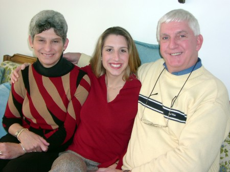 Leslie, Amy and Richard, Thanksgiving 2002