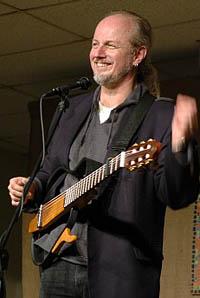 Garnet Rogers in 2006, photo by Stephen Ide