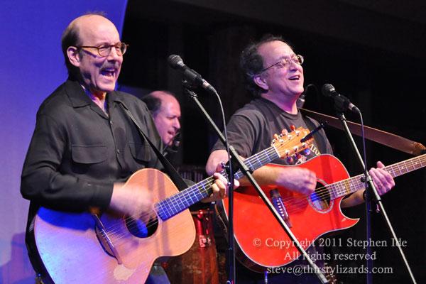 David Buskin & Robin Batteau ~ Photo by Stephen Ide