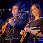 Darin & Brooke Aldridge perform at the 2012 Joe Val Bluegrass Festival. Photo by Stephen Ide
