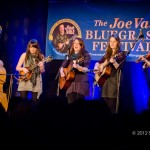 Della Mae performs at the 2012 Joe Val Bluegrass Festival. Photo by Stephen Ide