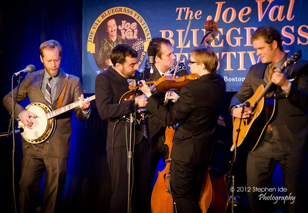 Steep Canyon Rangers perform at the 2012 Joe Val Bluegrass Festival. Photo by Stephen Ide