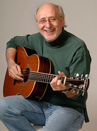 Peter Yarrow will perform Saturday, April 14, 2012 at the Circle of Friends Coffeehouse in Franklin, Mass.