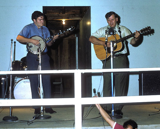 Merle and Doc Watson, Culpepper, Va., 1971 ~ Photo courtesy Fred Robbins