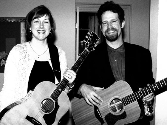 Neal &amp; Leandra at the Rose Garden in 2000 ~ Photo by Stephen Ide