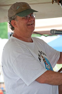 Jeff Horton teaches at the Grey Fox Bluegrass Festival in New York ~ Photo by Stephen Ide