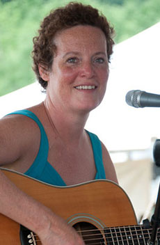 Mary Maguire teaches at the Grey Fox Bluegrass Festival in New York ~ Photo by Stephen Ide