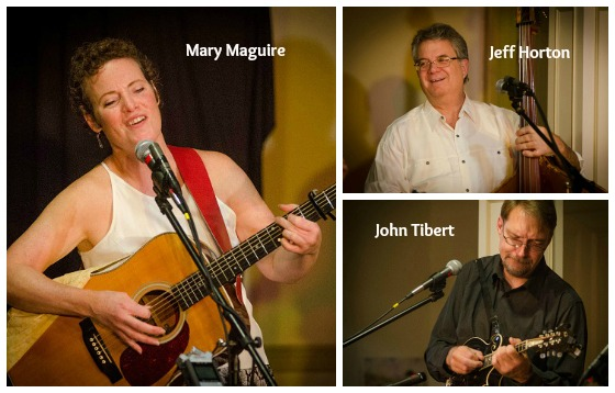 The Mary Maguire Band performs at the Rose Garden Coffeehouse on Saturday, Oct. 20, 2012 ~ Photo by Stephen Ide