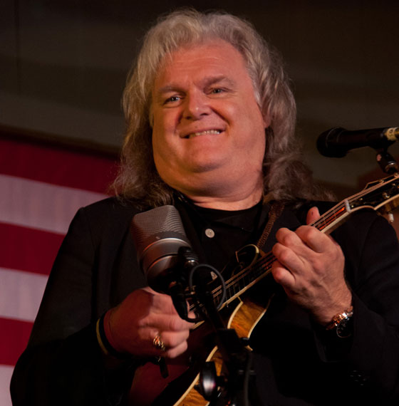 Ricky Skaggs at the Podunk Bluegrass Festival in 2010 ~ Photo by Stephen Ide