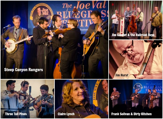 Some of the artists performing at the 2013 Joe Val Bluegrass Festival