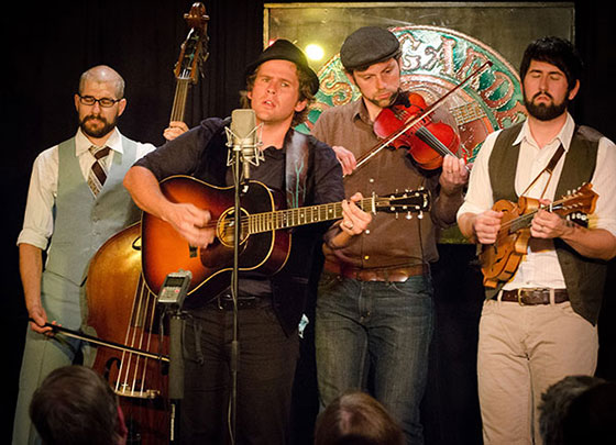 The Steel Wheels ~ photo by Stephen Ide