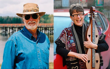 Bill Staines & Sally Rogers will perform tonight, April 4, 2014 at the Me & Thee Coffeehouse in Marblehead, Mass.