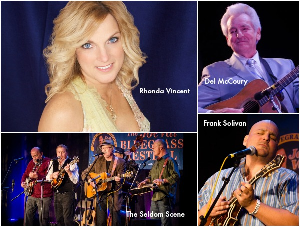 Some of the performers at the 2015 Joe Val Bluegrass Festival.