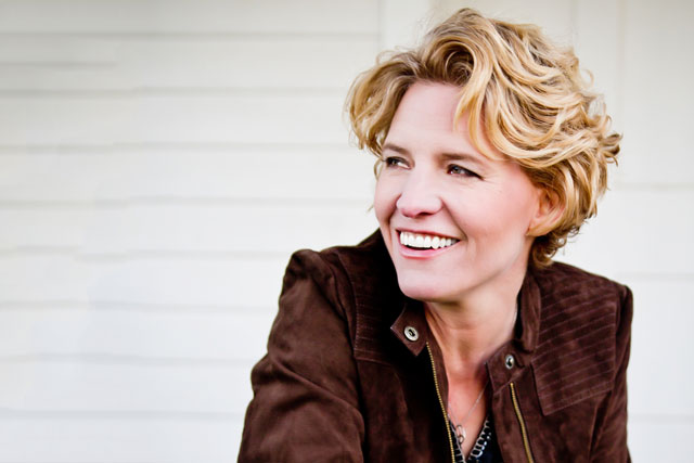 Catie Curtis will perform at 8 p.m. at the Rose Garden Coffeehouse in Mansfield, Mass. on Saturday, May 16, 2015.