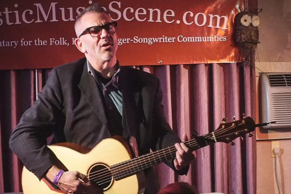 Jim Trick performs at the Northeast Regional Folk Alliance Conference in New York in 2015. Photo by Stephen Ide