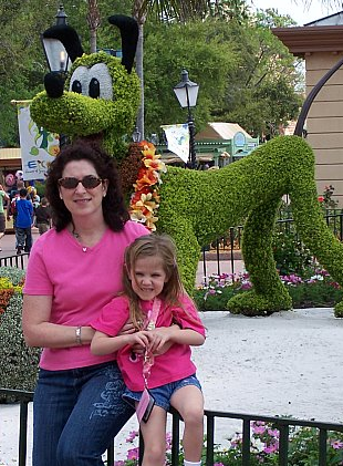 Mindy & Heidi at Disney