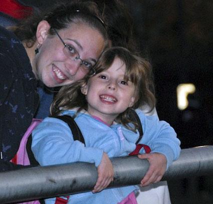 Rachel and Lauren at Waterfire