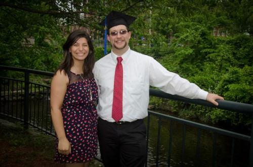 Daniella and Jared, May 26, 2012.