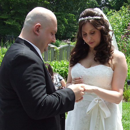 Click to see Danny's photos from the wedding