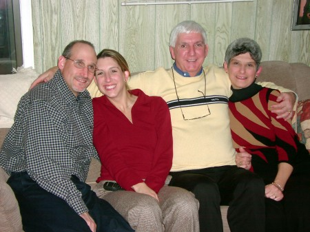 David, Amy, Richard & Leslie, Thanksgiving 2002