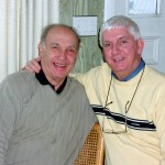 Morton and Richard, Thanksgiving, 2002