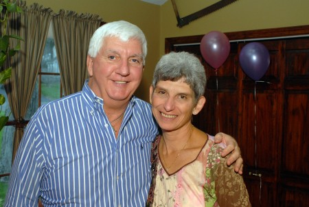 Richard and Leslie on Samantha's first birthday.