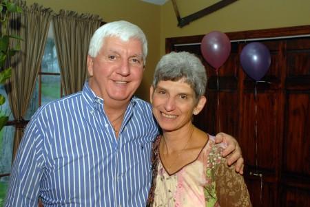 Richard and Leslie on Samantha's first birthday.