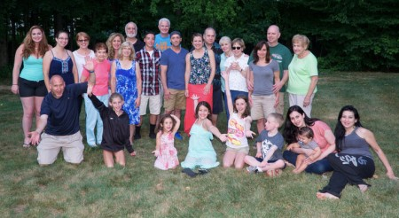 Click image to see more photos from the family reunion.